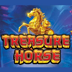Treasure Horse logo achtergrond
