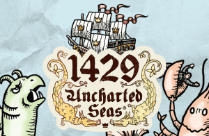 1429 Uncharted Seas logo achtergrond