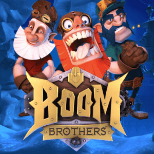 Boom Brothers logo achtergrond