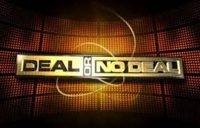 Live Deal or No Deal logo achtergrond