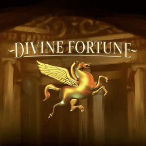 Divine Fortune logo achtergrond