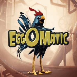 Eggomatic logo achtergrond