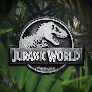 Jurassic World side logo review