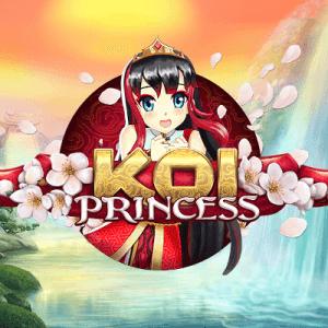 Koi Princess logo achtergrond