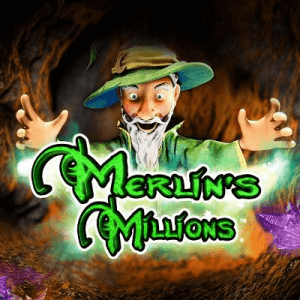 Merlin's Millions logo achtergrond