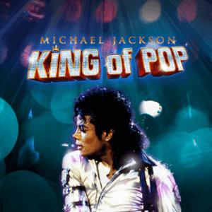 Michael Jackson logo achtergrond