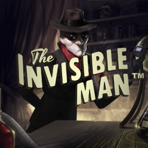 The Invisible Man logo achtergrond