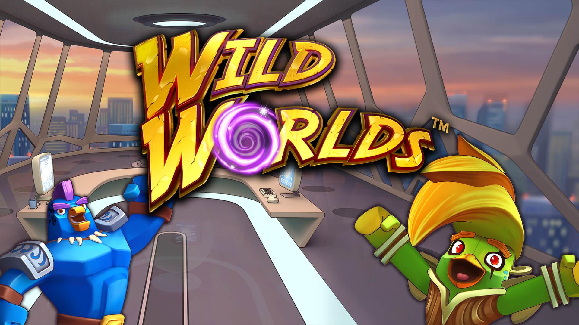 Wild Worlds gokkast van NetEnt nu uit!