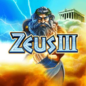 Zeus III logo achtergrond