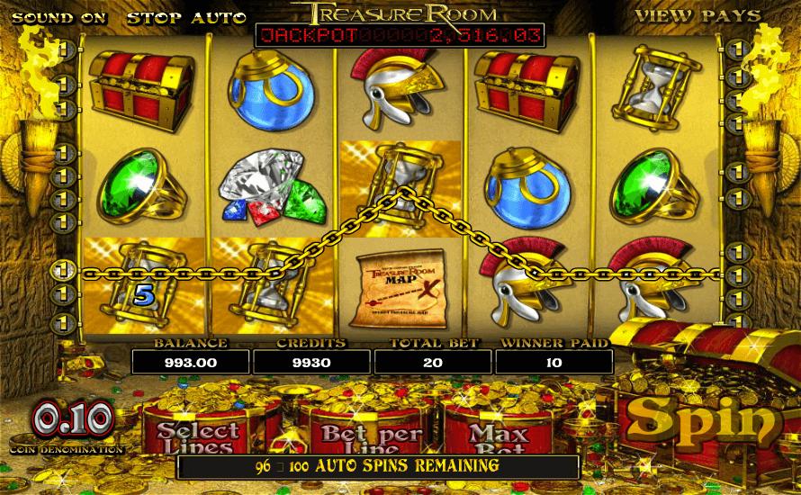 Treasure Room Bonus