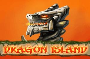 Dragon Island logo achtergrond