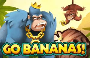 Go Bananas logo achtergrond