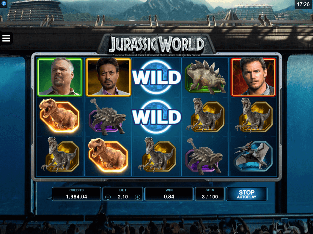 Jurassic World gratis spins