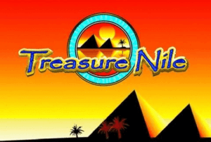 Treasure Nile logo achtergrond