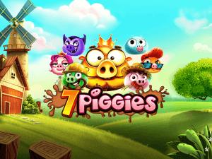 7 Piggies logo achtergrond