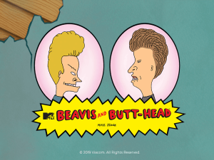 Beavis and Butthead logo review