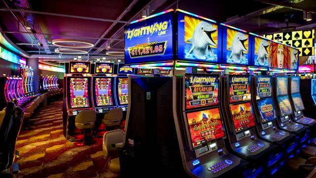 gokkasten in een casino