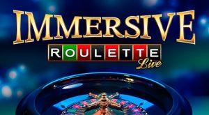 Immersive Roulette logo achtergrond