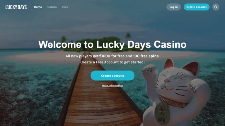 Lucky Days Screenshot 1