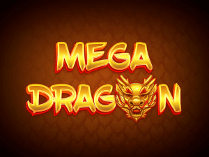 Mega Dragon logo achtergrond