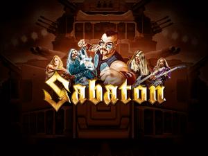 Sabaton logo achtergrond