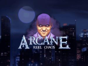 Arcane: Reel Chaos logo achtergrond