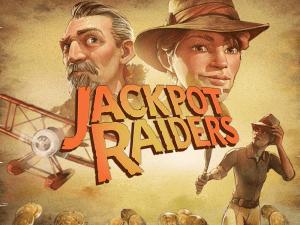 Jackpot Raiders logo achtergrond