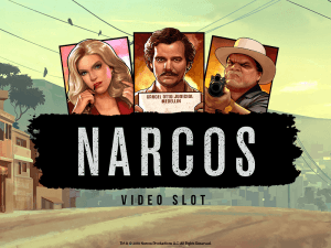 Narcos side logo review