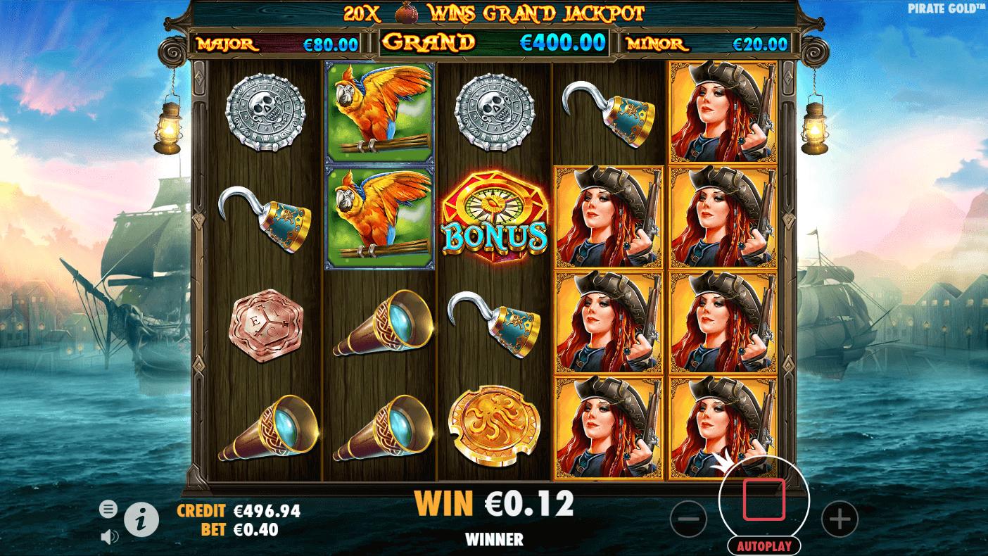 Pirate Gold Bonus