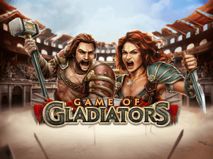 Game Of Gladiators logo achtergrond