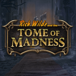 Rich Wilde and the Tome of Madness logo achtergrond