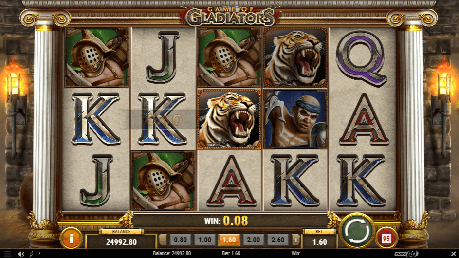 Game Of Gladiators Gratis Spins