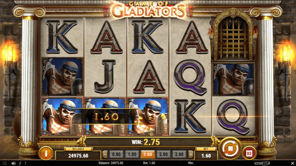 Game Of Gladiators Bonus