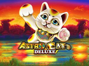 Astro Cat Deluxe logo achtergrond