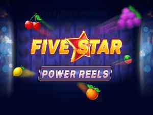 Five Star Power Reels logo achtergrond
