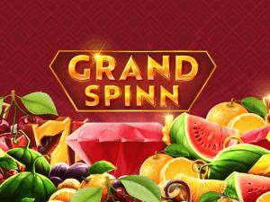 Grand Spinn logo achtergrond