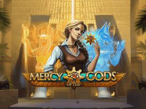 Mercy Of The Gods logo achtergrond