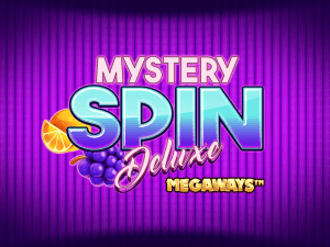 Mystery Spin Deluxe Megaways logo achtergrond