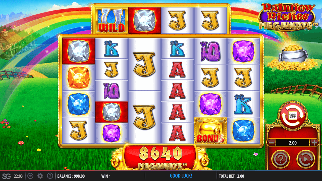 Rainbow Riches Megaways Review