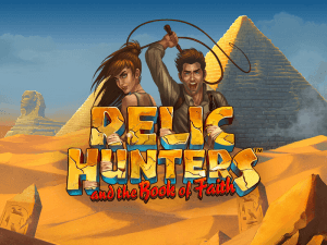 Relic Hunters logo achtergrond