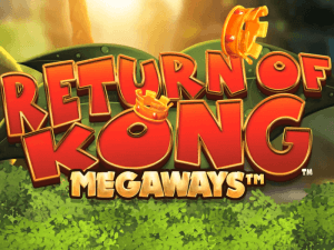 Return of the Kong Megaways logo achtergrond