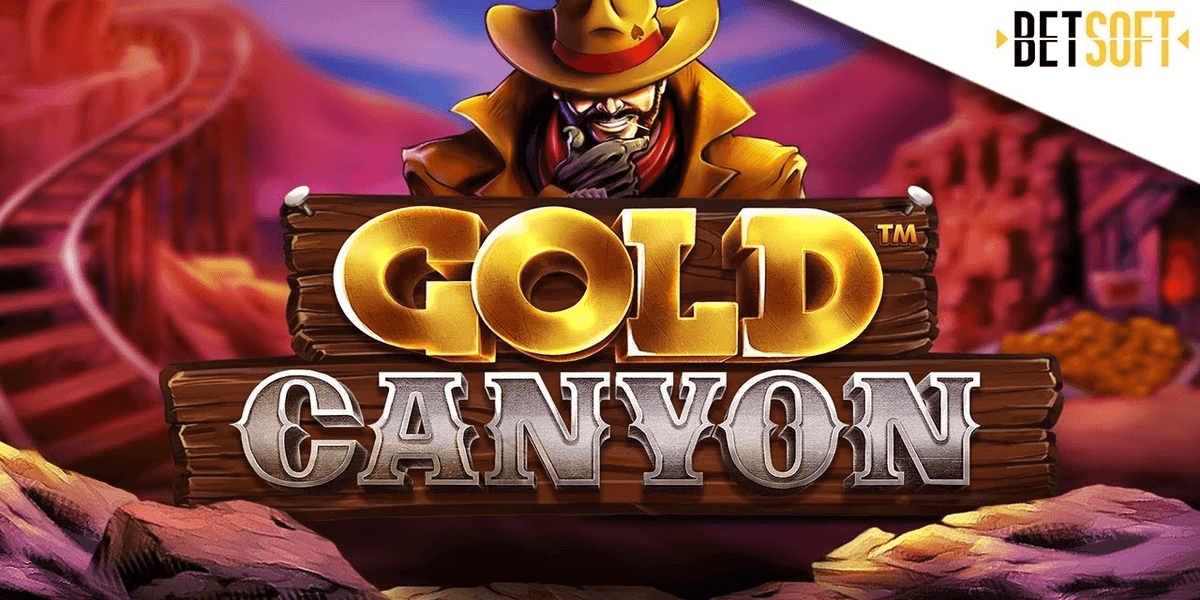 Betsoft brengt Gold Canyon gokkast uit