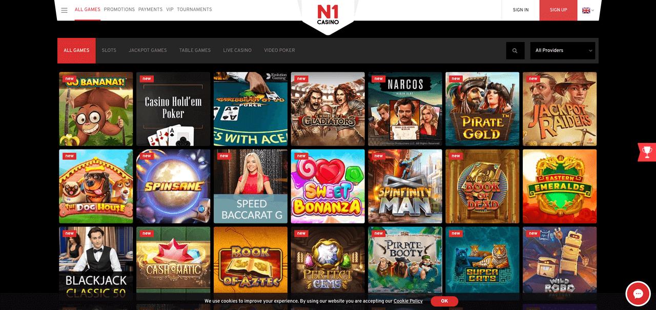 N1 Casino CasinoScout