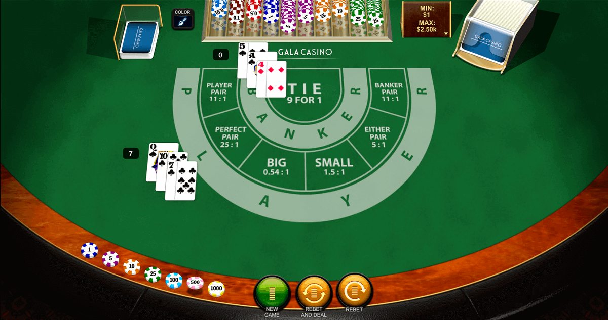Baccarat CasinoScout