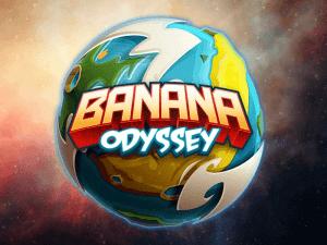 Banana Odyssey logo achtergrond