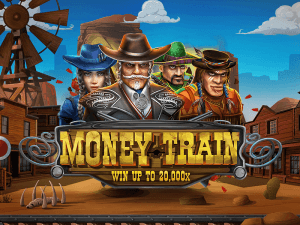 Money Train logo achtergrond