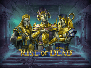 Rise Of Dead logo achtergrond