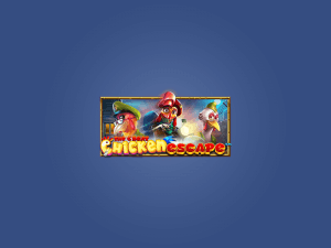 The Great Chicken Escape logo achtergrond