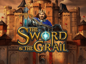 The Sword & The Grail logo achtergrond