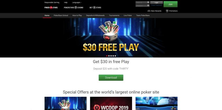 PokerStars Casino Screenshot 3